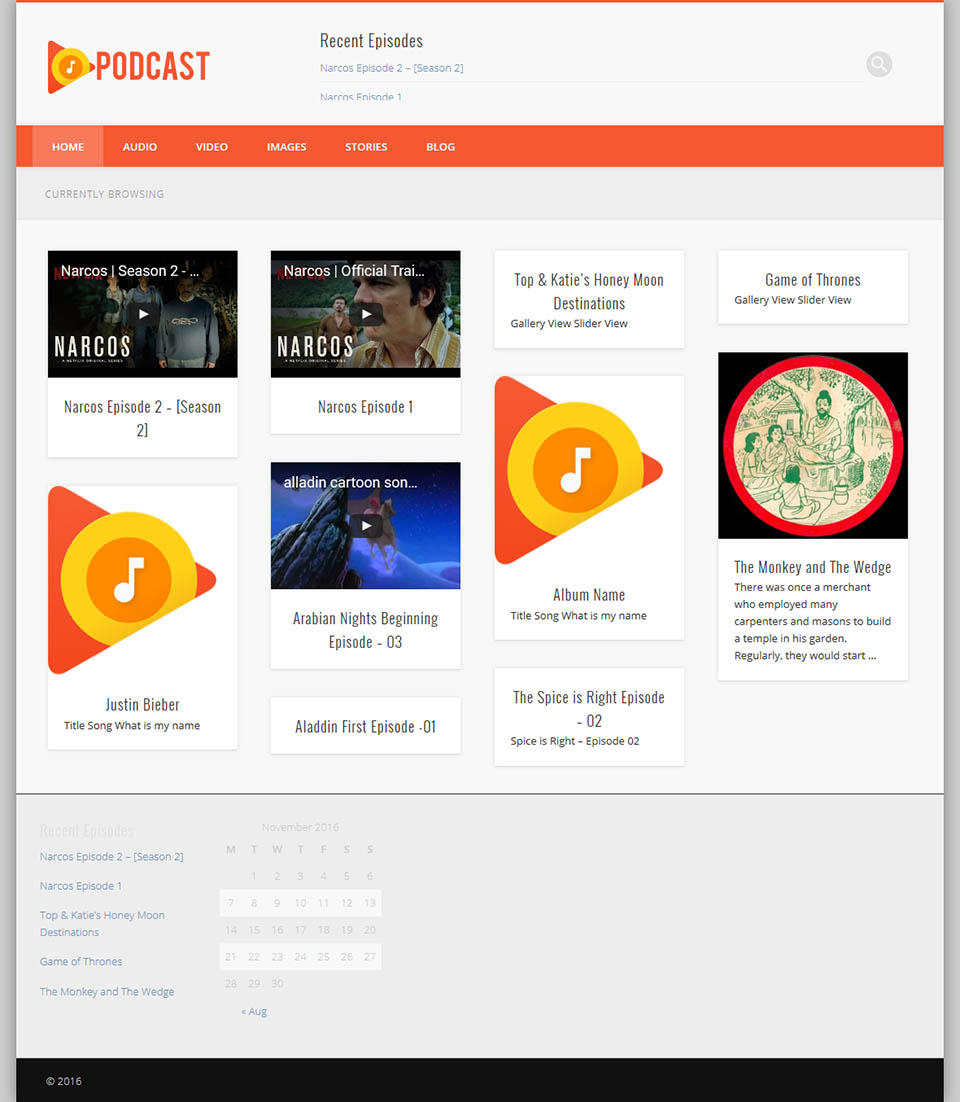 Solostream Wp Podcasts V120 The Podcast Template For Wordpress