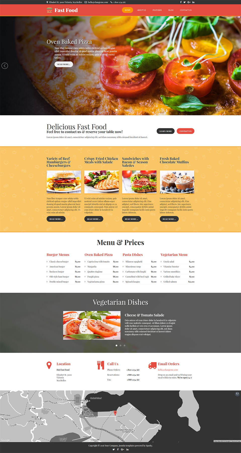 Hotthemes fast food v260 template restaurant joomla template for joomla hotthemes fast food free download forumfinder Images
