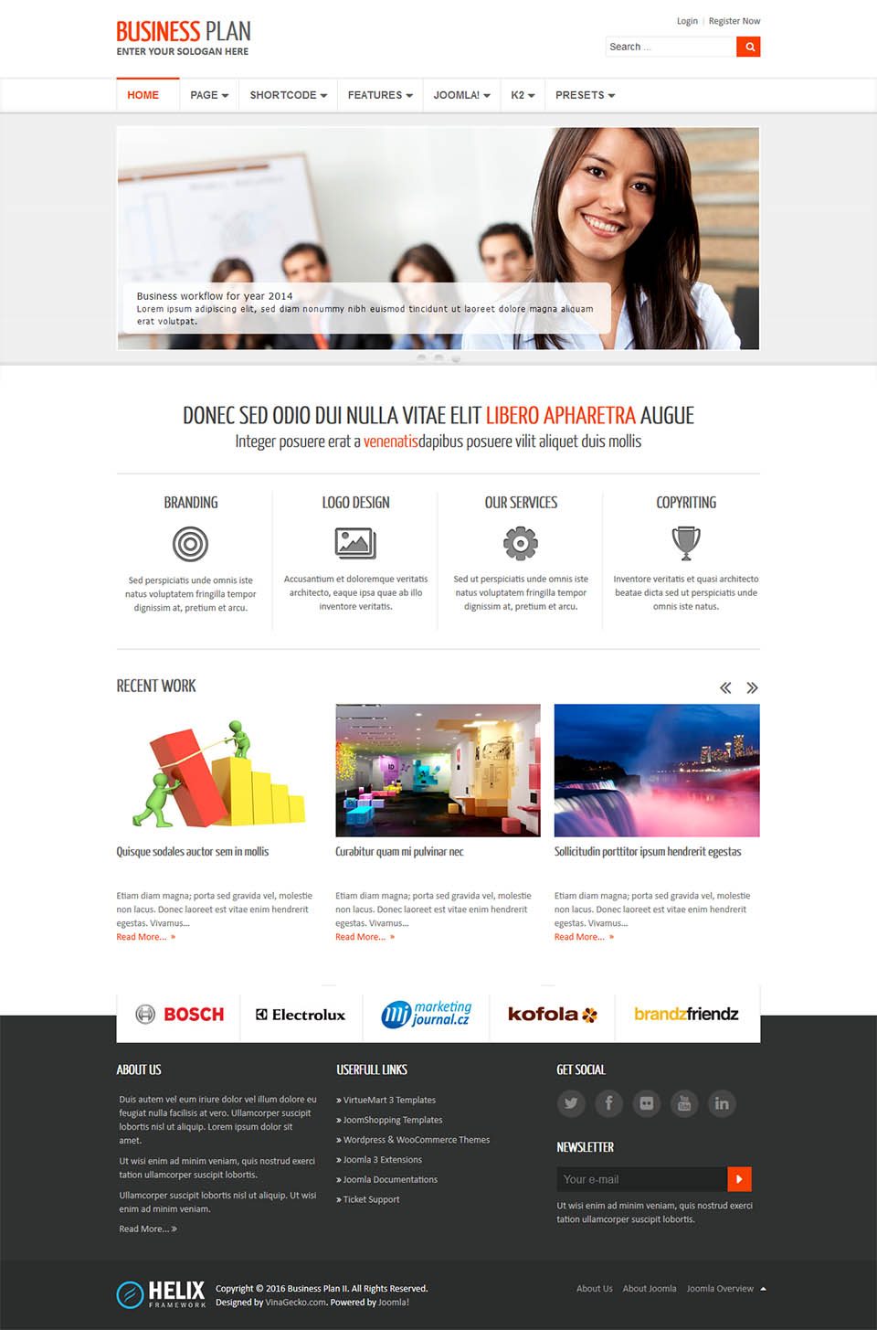 Vinagecko business plan ii v130 free responsive business joomla template for joomla vinagecko business plan ii free download cheaphphosting Images