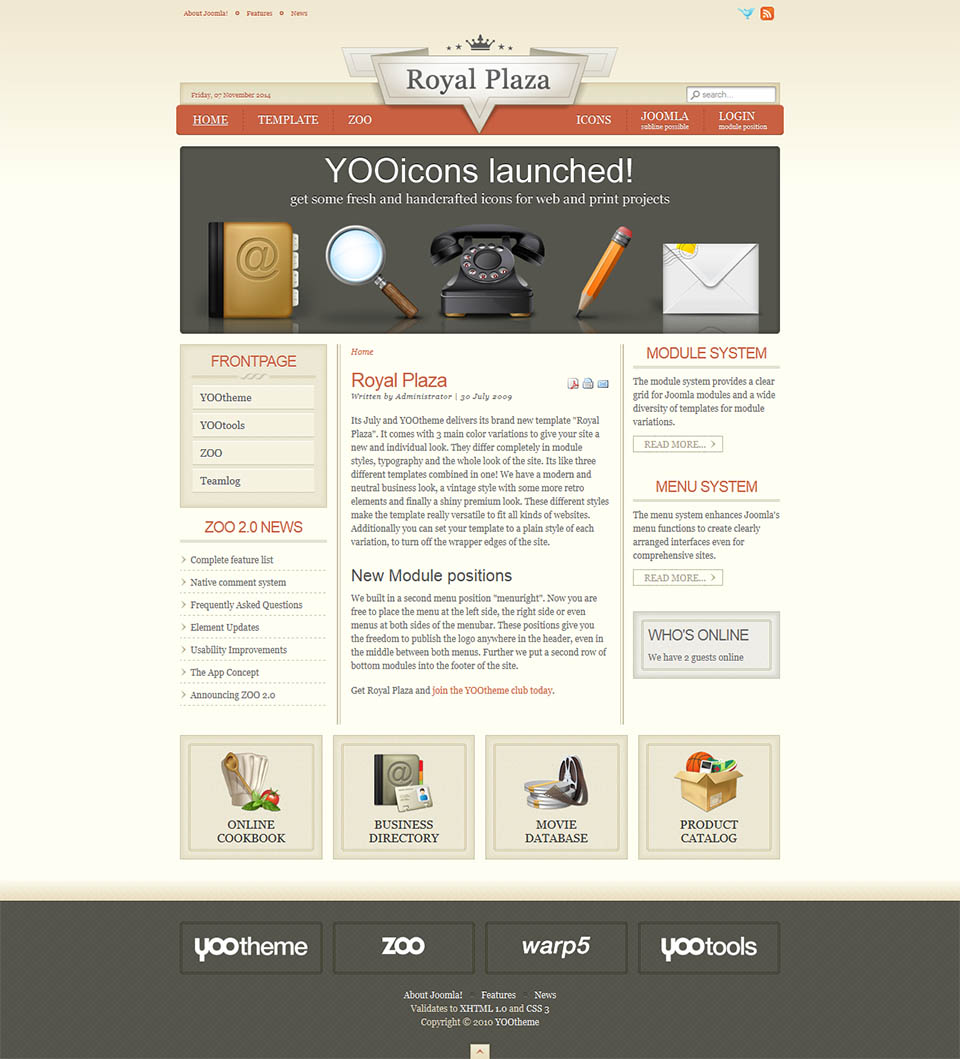 Yootheme royal plaza v5514 travel template for joomla template for joomla yootheme royal plaza free download friedricerecipe Choice Image