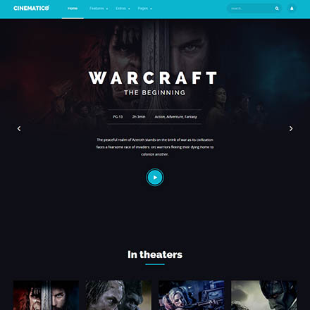 Game Templates for Site | Download Gaming Sites Templates