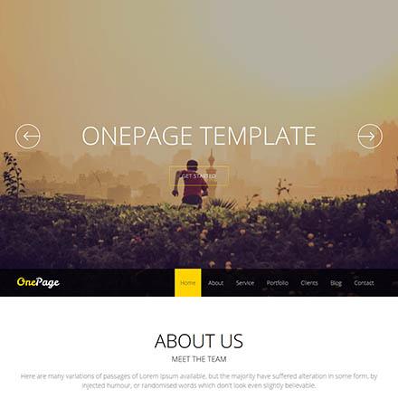 Joomshaper Onepage V2 8 0 One Page Portfolio Template For Joomla