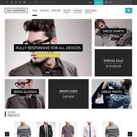 No1 Shopping – Shape5 Joomla Template